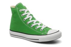 Chuck Taylor All Star Hi W Converse (Vert) : livraison gratuite de vos Baskets Chuck Taylor All Star Hi W Converse chez Sarenza