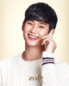 ZUK mobile ❤❤ 김수현 Kim Soo Hyun my love ♡♡ love everything about you. Drama Korea, Korean Drama, Chunky Knitwear, My Love From The Star, Poster Boys, Sung Kyung, Seo Joon, Lee Sung, Korean Star