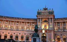 Hofburg Palce in Vienna, Austria  via georg.schmidt