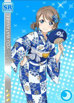 School Idol Tomodachi - Cards Album: #1004 Watanabe You SR