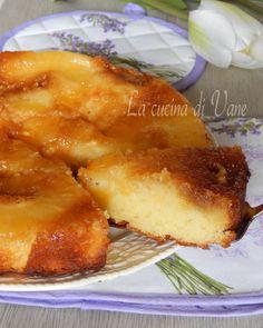 torta rovesciata ananas e yogurt..