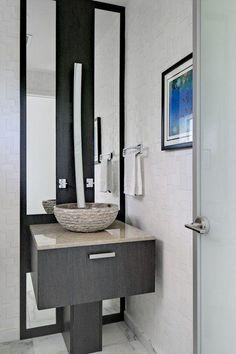 Picture Collection Website  Modern Powder Room Design Ideas