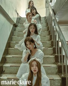 (G)I-DLE for Marie Claire magazine April 2019 issue Kpop Girl Groups, Korean Girl Groups, Kpop Girls, Btob, First Girl, My Girl, Rapper, C Clown, Soo Jin