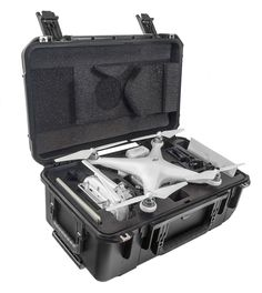 The All-New CasePro DJI Phantom 4 Carry-On Hard Case is the ultimate travel companion for every Phantom user. This case balances the dual requirements of safeguarding your gear while remaining lightwe