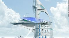 It will have room for around 18 scientists to live and study the ocean.