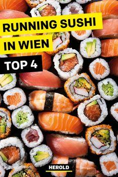 Running Sushi, Food Travel, Vienna, Restaurants, Good Food, Wanderlust, Europe, Ethnic Recipes, Outdoor