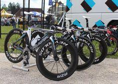 2012 Tour de France Time Trial Bikes
