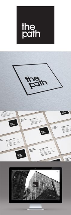 As one of Sydney's emerging investment companies, The Path approached Made to design a new logo mark. In response our team created an eye-catching identity that symbolises strength, security and reliability.graphic design logo inspiration design sydney m