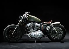 1997 Harley Davidson Sportster 883 - The Witch by Lorenz Richard.