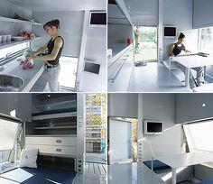 m-ch (micro compact home) Interior