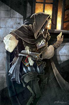 espionne - Photo de Mascarade - A pleine dent Tarot, Warhammer Fantasy, Comic Character, Master Chief, Game Art, Board Games, Fantasy Art, Steampunk, Album