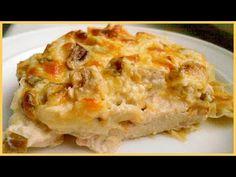 Очень вкусная куриная запеканка с грибами в духовке. Как приготовить куриное филе в духовке