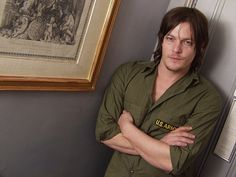 Joker: The actor, who playsDaryl Dixon in the AMC show, joked that he wanted to keep some...