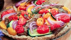 Herb Vegetable Tart (LiveWell Network)