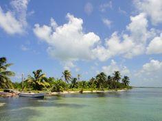Cayo Ambergrís, la isla más grande de Belice.