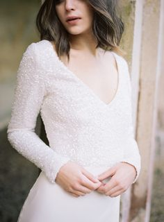 Timeless Romantic Bride | Cherry Williams London | Wedding Sparrow | Fine Art Curation