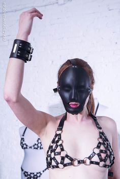 "Leather face mask ""Eyes wide shut"" #pentagramshop #fetish #bdsm #leather #mask"