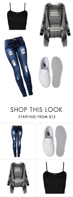 """Untitled #46"" by briannaharrell4 ❤ liked on Polyvore featuring beauty, Vans and WearAll"