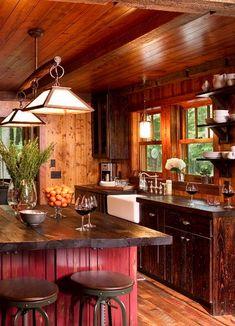 It's a Man's kitchen  - by Michelle Fries, BeDe Design, LLC