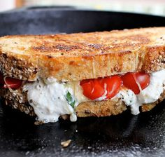 15 Grown-up Grilled Cheese Sandwich Recipes - Lasagna Grilled Cheese Sandwich