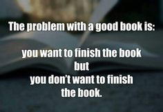 Yep!  #BookwormProblems