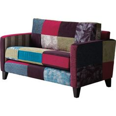 Peggy Patchwork 2 Seater Sofa