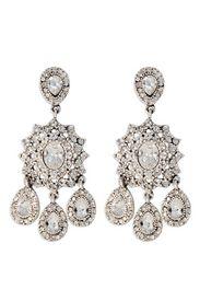 NICOLE MILLER . Silver Southern Plantation Earrings