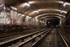 To pedestrians wandering the streets of Paris, the only evidence of the former Arsenal métro station is a blocked entrance on Boulevard Bourdon. But in the subterranean space below lurks a set a platforms virtually unchanged (excluding graffiti) since September 2, 1939. Situated between Bastille and Quai de la Rapée on line 5 of the Paris métro, Arsenal was one of several subway stations in the city to close due to the mobilization of CMP employees at the start of World War Two.