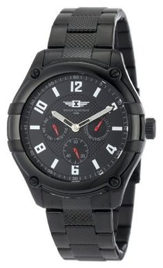 I By Invicta Men's 43659-004 Multi-Function Black Ion-Plated Stainless Steel Watch Invicta. $59.99. Precise Japanese-quartz movement. 60 second, day and date subdials with red luminous hands. Black dial with silver tone hands, hour markers and Arabic numerals; luminous. Mineral crystal; brushed black ion-plated stainless steel case and bracelet. Water-resistant to 165 feet (50 M). Save 88% Off!