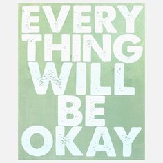 Everything Okay Panel 24x30 Sage, by I Screen You Screen , now featured on Fab.