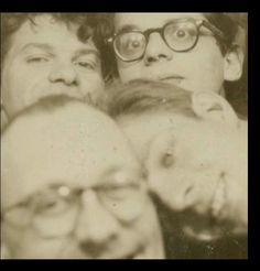 The Beat Generation Poets, (clockwise from top left) Gregory Corso, Allen Ginsberg, Peter Orlovsky and Paul Carroll Jack Kerouac, Allen Ginsberg, Vintage Photo Booths, Vintage Photos, Lucien Carr, Beat Hotel, Kill Your Darlings, Psychedelic Drugs, Beat Generation