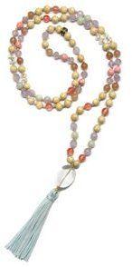Energy Muse Quan Yin Mala Yoga Jewelry Necklace - 8142753