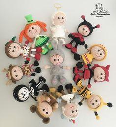 Вязаные игрушки амигурушки