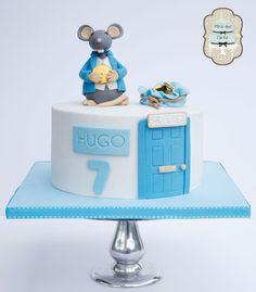 Tarta Ratoncito Perez. Spanih tooth Fairy cake. Kid´s cake. By #miraquetarta