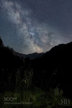 Milchstrasse in Liechtenstein  Mein erster Versuch die Milchstrasse zu fotografieren.  Image credit: http://ift.tt/29FAVWw Visit http://ift.tt/1qPHad3 and read how to see the #MilkyWay  #Galaxy #Stars #Nightscape #Astrophotography