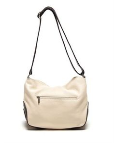 Carla Ferreri Grainy Leather Shoulder Bag - Made In Italy