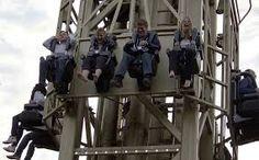 Most terrifying roller coasters in the global village THE GOLDEN TOWER , TIVOLI GARDENS , COPENHAGEN , DENMARK