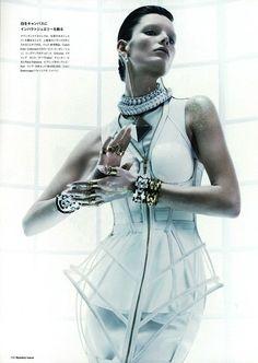 Ava Smith by Benjamin Lennox For Numero #66