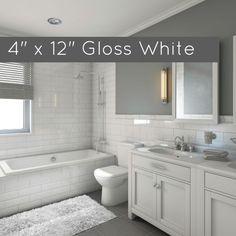 "Discount Glass Tile Store - Clearance Metro Subway Tile - White Matte 4"" x 12"" Ceramic Wall Tile $2.49 per square foot, $2.49 (http://www.discountglasstilestore.com/metro-subway-tile-white-matte-4-x-12-ceramic-wall-tile-2-49-per-square-foot/)"