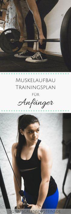 Wie sieht ein guter Trainingsplan eigentlich aus und worauf sollte man achten? In diesem Beitrag findet ihr einen Trainingsplan für Anfänger zum Download!