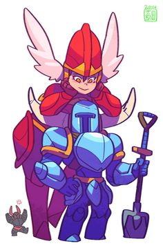 Shovel and Shield Knight. My first upcoming cosplay with my mister. :D