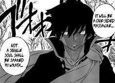"""Black Wizard"" Zeref (Fairy Tail, chapter 340)"