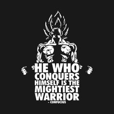 Shop Mightiest Warrior (Goku) workout t-shirts designed by oolongtee as well as other workout merchandise at TeePublic. Dragon Ball Z, Dragon Ball Image, Dbz Quotes, Hero Quotes, Goku Workout, Goku Training, Goku Wallpaper, Gym Logo, Warrior Quotes