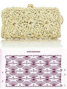Borsa ed altro Discover thousands of images about Patrones Crochet: Patron Crochet Bolso Mano de Noche This Pin was discovered by Dim Image gallery – page 682154674781682290 – artofit – Artofit Purse Patterns Free, Crochet Purse Patterns, Crochet Motifs, Crochet Diagram, Crochet Chart, Crochet Stitches, Crochet Clutch Bags, Bag Crochet, Crochet Shell Stitch