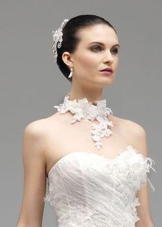 robe de marie morelle mariage lille vente en ligne collier annie couture - Morelle Mariage