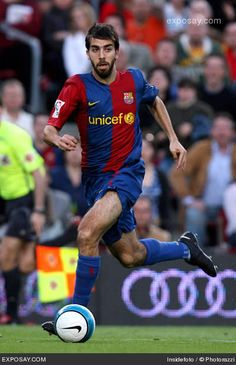 Oleguer Presas or Oleguer, played primarily as  a central defender, he could also operate as a defensive right back. During his stay FC Barcelona won two La Liga championships and the 2006 UEFA Champions League.  Olegeur appeared in nearly 200 official games.