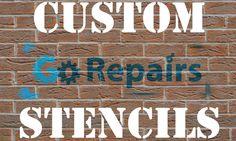 Make your own custom stencils.