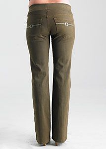 Great color and flattering 5 Pocket Colored maternity Denim from Juliet Dream now only $49.93. Original price: $106.00
