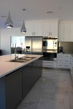 Modern Kitchen Project In Lithgow Strathlone Estate. We Love The Colour  Scheme And Design Of