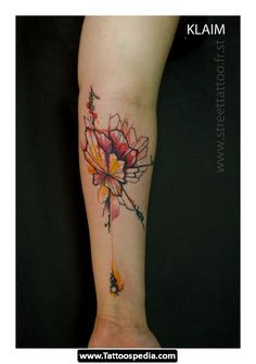 Awesome example of what my wildflowers would look like with watercolor added... Hmmm tempting.